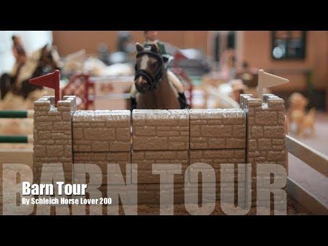 Schleich Barn Tour September 2017 - Silver Star Stables
