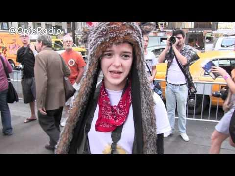 Occupy Wall Street is a FREAK show - @OpieRadio
