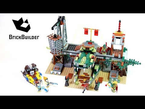 Lego Chima 70014 The Croc Swamp Hideout - Lego Speed Build
