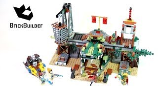 Lego Chima 70014 The Croc Swamp Hideout - Lego Speed Build thumbnail