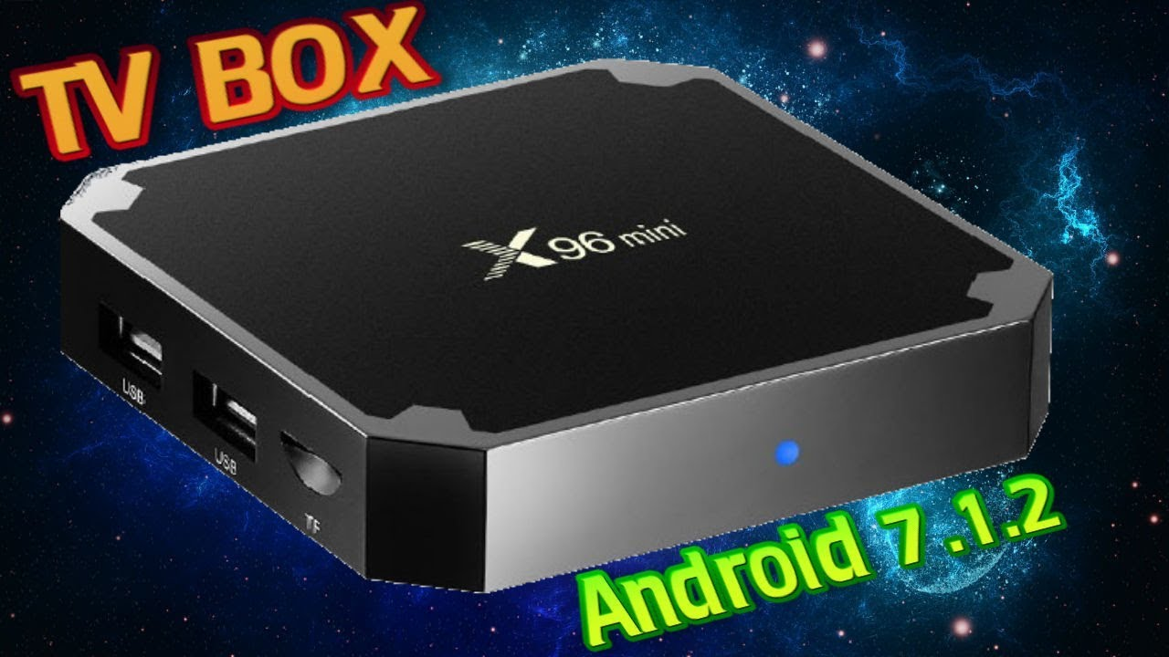 X96 Mini Android 7 1 2 Amlogic S905W New Android TV Box