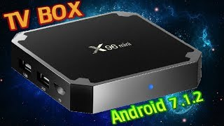 X96 Mini Android 7.1.2 Amlogic S905W New Android TV Box