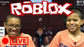 Roblox Hide And Seek Extreme LIVE