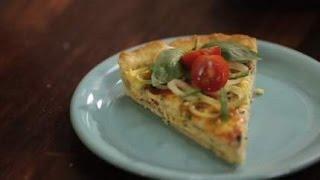 Пирог с сыром и луком-порей. Рецепты счастья. Новая история