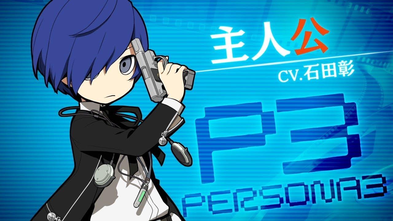 【PQ2】P3主人公(CV.石田彰)