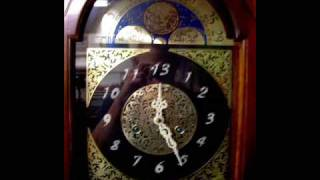 13th Hour Grandfather Clock Halloween Prop Animated