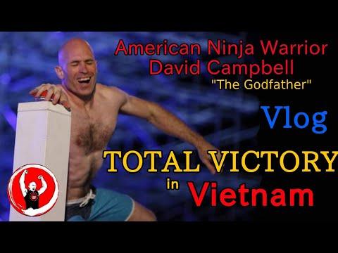 American Ninja Godfather David Campbell Total Victory in Sasuke Vietnam