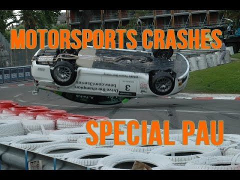 Motorsports Crashes Compilation 2007-2016 (Special GP Pau) Street Circuit #1 #MCRFRacing