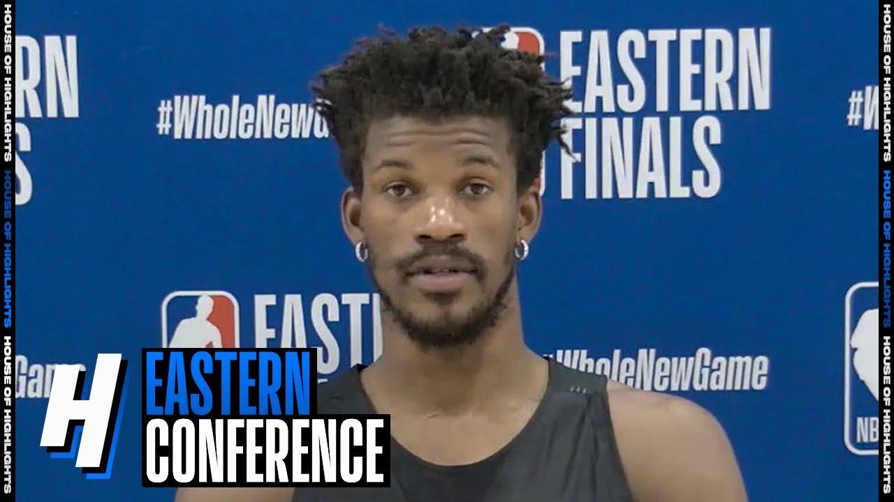 Jimmy Butler Postgame Interview - Game 3 | Celtics vs Heat | September 19, 2020 NBA Playoffs