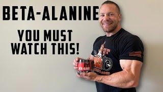 Beta Alanine - You're Taking It WRONG!