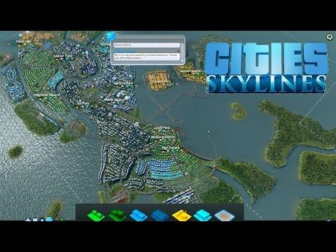 Cities: Skylines #31, Wayne Enterprises