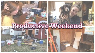 Busy Weekend | Cleaning Out My Barn | Motivation