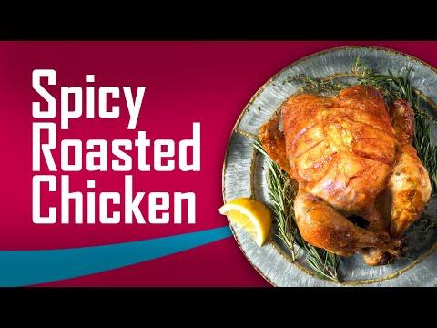 How to Cook Spicy Roast Chicken   Chicken Recipe
