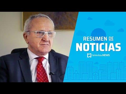 Jesús Seade fue eliminado de la carrera para dirigir la OMC, resumen de noticias vespertino