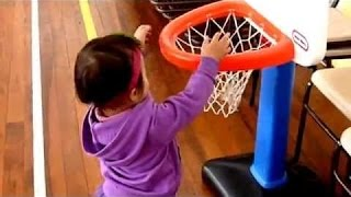 Little Tikes Easy Score Basketball Hoop Kids Balloons and Toys