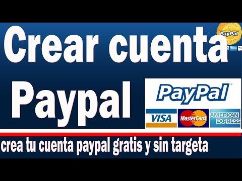 Como Crear Cuenta Paypal Gratis 2016 | Paso A Paso Y Actualizado Sin Tarjeta De Credito.