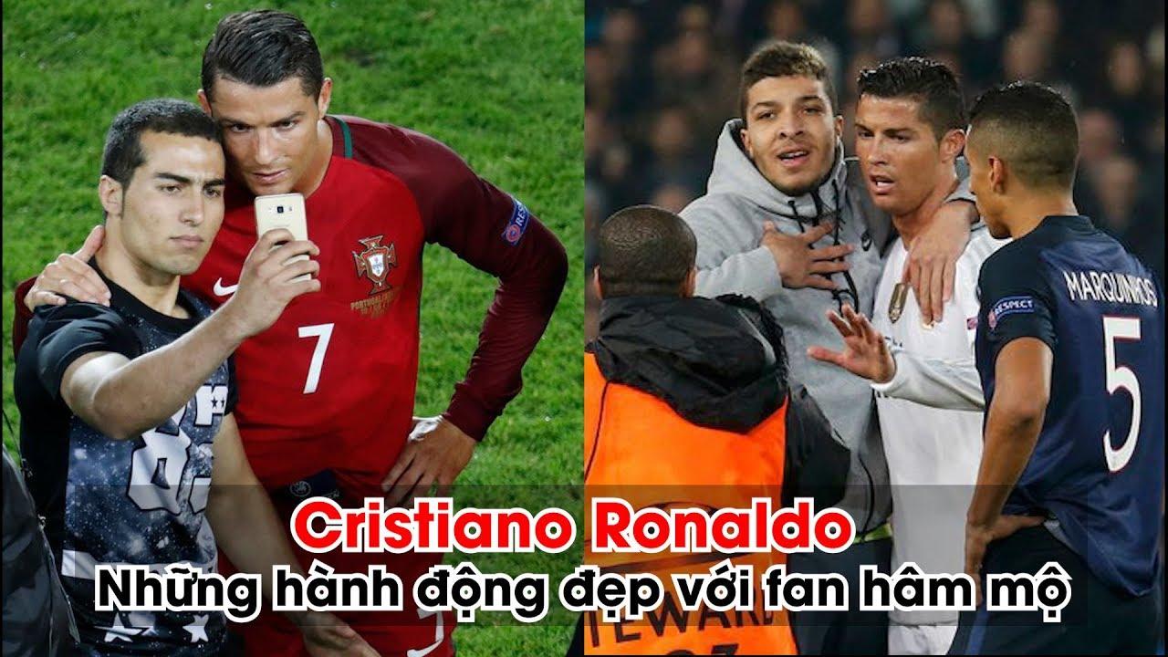 Cristiano Ronaldo và những hành động đẹp chiếm trọn trái tim fan hâm mộ