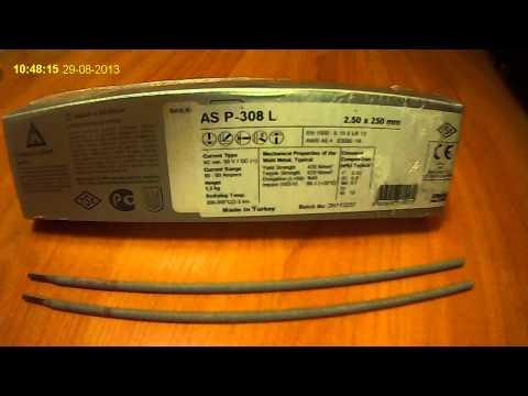 Электроды для сварки нержавеющих сталей AS P-308L ASKAYNAK