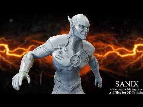 FLASH - Justice League 3D Printable Model