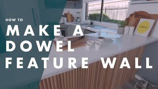كيفية إنشاء وتد الخشب مقاعد البدلاء المطبخ
