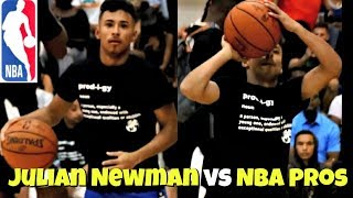 Julian Newman is NBA READY!! Takes OVER Miami Pro Am