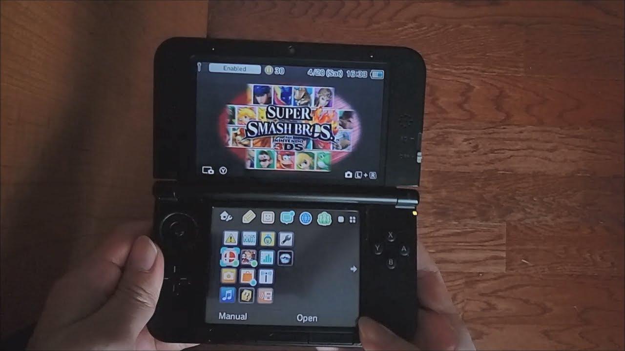 luma3ds_Nintendo3DSXL:FromstockfirmwaretoLuma3DSCFWinlessthan30minutes(Seedminer