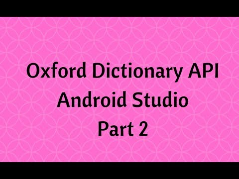 Oxford dictionary api authentication missing