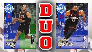 9a27b8bdb1e NBA 2K18 MyTEAM Dynamic Duo RATINGS - Emerald to Sapphire Chris Paul    Sapphire James Harden