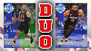 d8971b79f8c NBA 2K18 MyTEAM Dynamic Duo RATINGS - Emerald to Sapphire Chris Paul    Sapphire James Harden