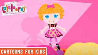 Lalaloopsy - Back To School | Lalaloopsy Webisode Compilation | Full Episode | Cartoons for Kids