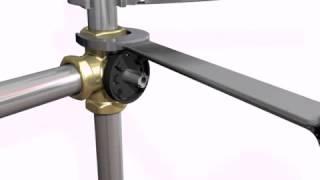 видео Смесительный клапан серии VRB140