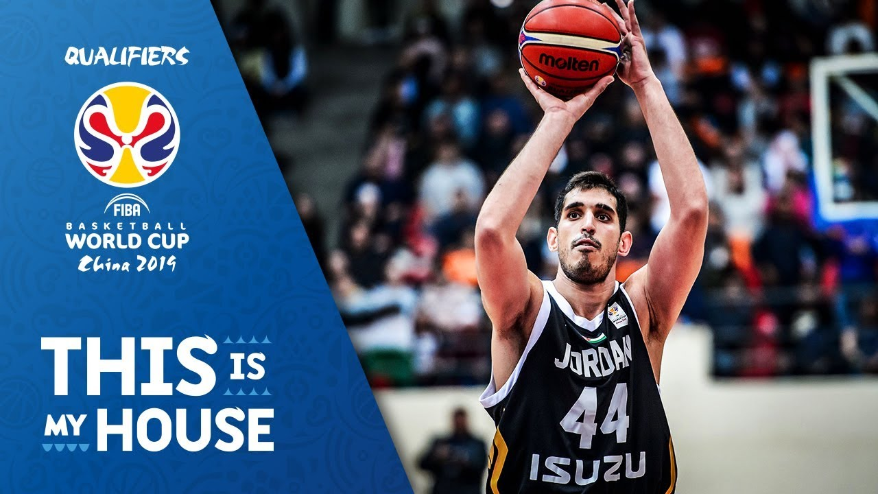 Al Dwairi dominates against NZL (15 PTS / 9 REB) - FIBA Basketball World Cup 2019