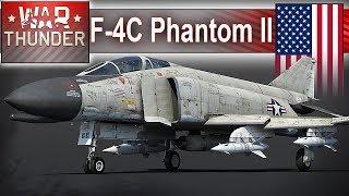 F-4C Phantom II dwukrotna prędkość dźwięku - War Thunder