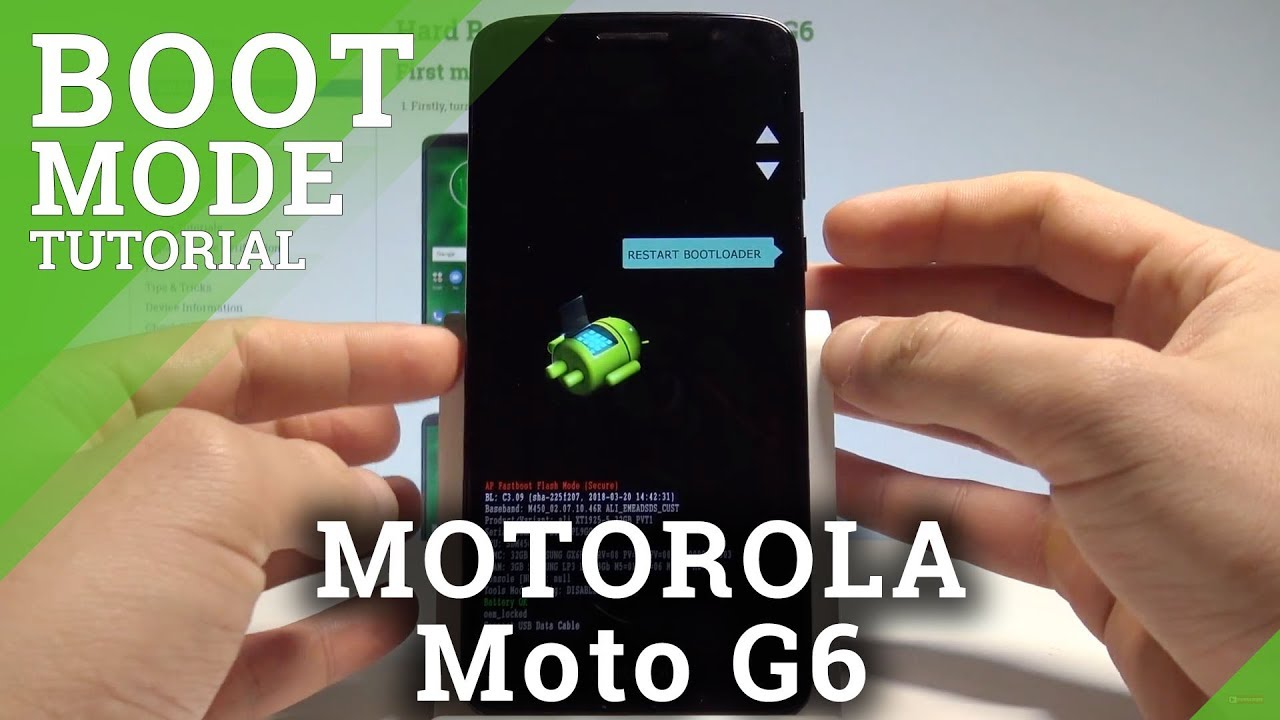 How to Open Bootloader Mode in MOTOROLA Moto G6 |HardReset Info
