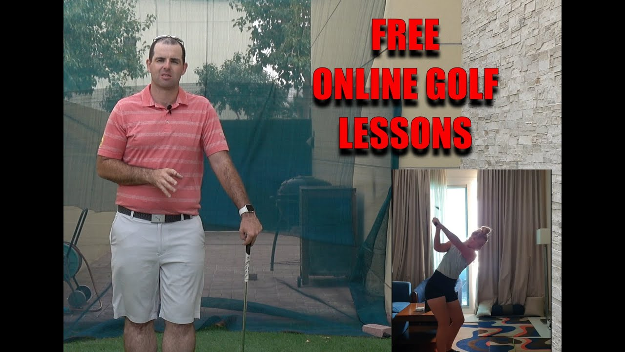 Free Online Golf Lessons