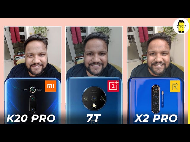 Realme X2 Pro vs Redmi K20 Pro vs OnePlus 7T camera comparison: value flagship battle