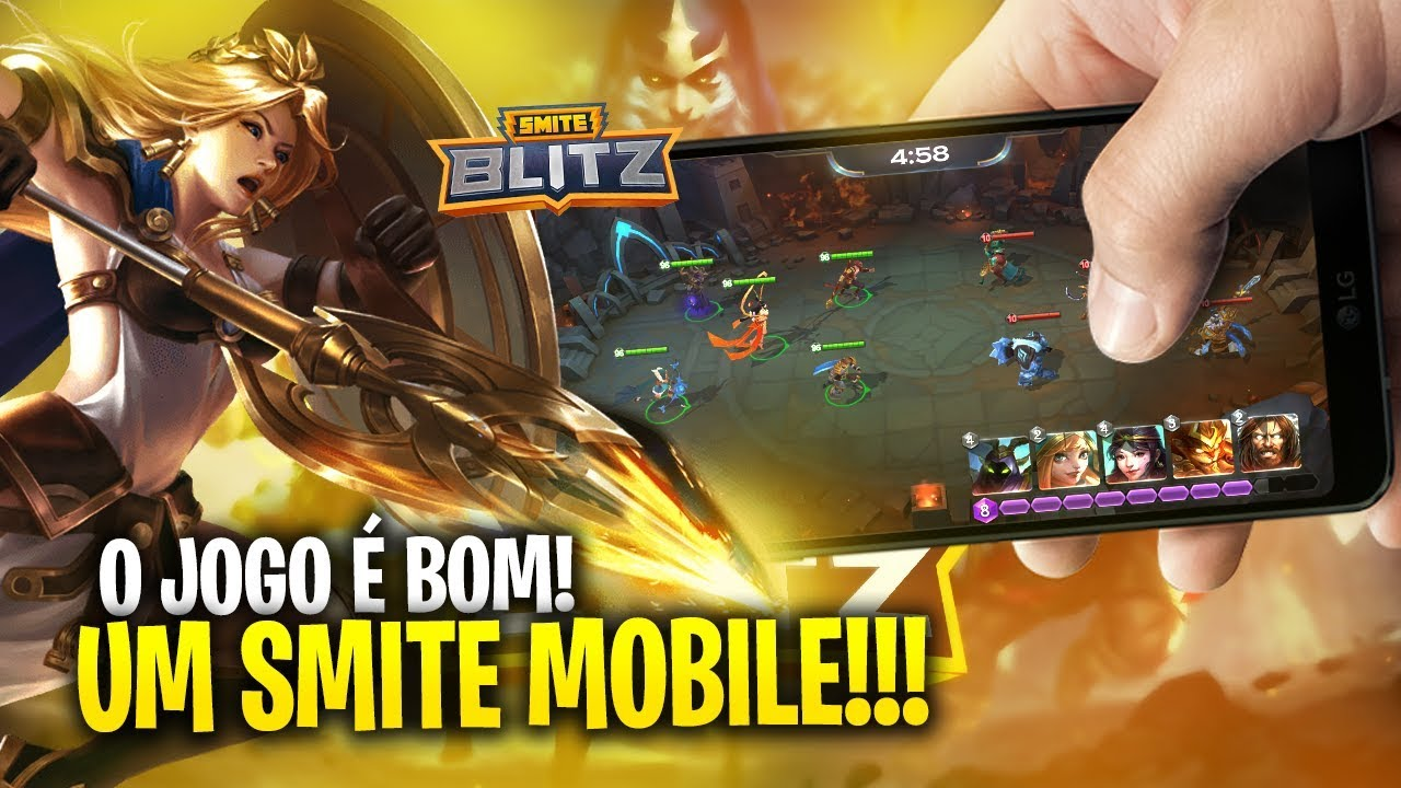 SMITE BLITZ   Testando o novo jogo da HI REZ!