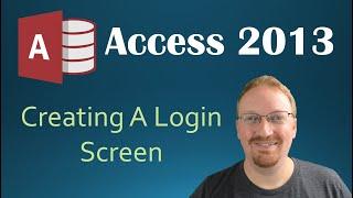 "VBA - Creating A Login Screen in ""Programming in Microsoft Access 2..."