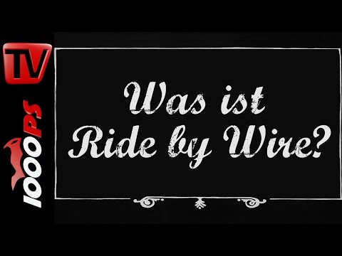 Was ist Ride by Wire? - Motorrad Lexikon