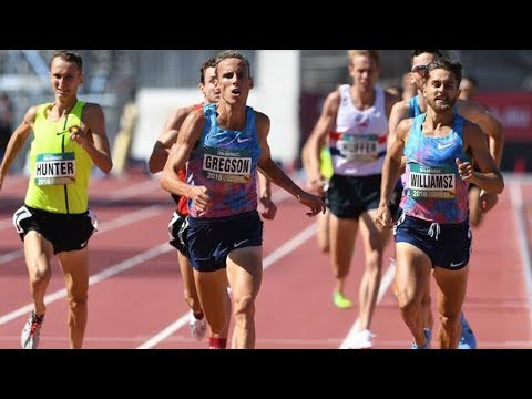 Incredible Finish at 1500m  Australian Champ 2018