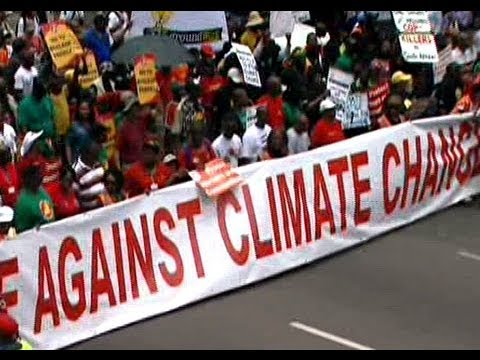 Thousands rally in Durban for climate action
