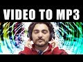 How To Convert Video To Mp3 -- Free Video Mp3 Converter