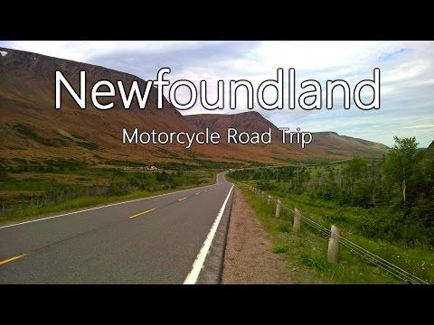 Newfoundland Motorcycle Road Trip