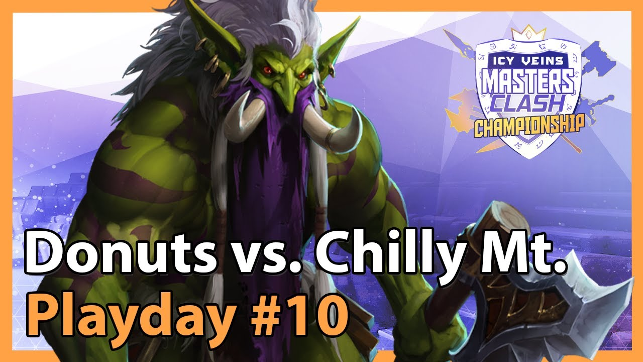 Donuts vs. Chilly Mountain - MC - Heroes of the Storm 2021