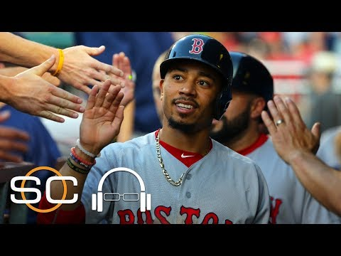 Mookie Betts Says It Is 'Pretty Cool' To Be Mentioned With The Greats | SC With SVP | June 21, 2017