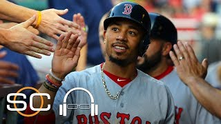 Mookie Betts Says It Is 'Pretty Cool' To Be Mentioned With The Greats | SC With SVP | June 21, 2017 thumbnail