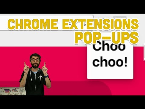 11.5: Chrome Extensions: Pop-ups - Programming With Text