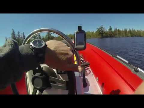 1st Ride in new Seabright 500 inflatable boat