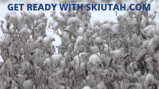October Powder in Utah - Are You Ready For Winter - Ski Utah