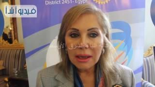 بالفيديو: رئيس الاندية الروتارية في مصر يدعو الأعضاء من دول العالم لتنشيط السياحة